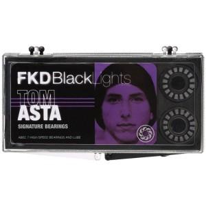FKD Blacklight Skateboard Bearings Tom Asta