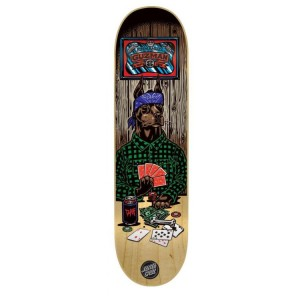 Santa Cruz Poker Dog Skateboard Deck - Guzman