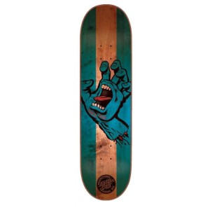 Santa Cruz Stained Hand Skateboard Deck