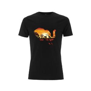 Bhubesi Elephant Mens Organic T-Shirt